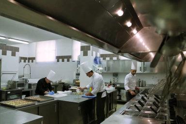 Villa Orsini: gli chef preparano i piatti 2016