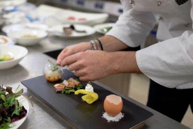 Villa Orsini, una cucina gourmet con ingredienti di qualità elevata