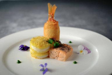 Cucina squisita con spiccato senso estetico