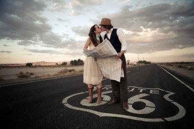 Viaggio di nozze lungo la Route 66