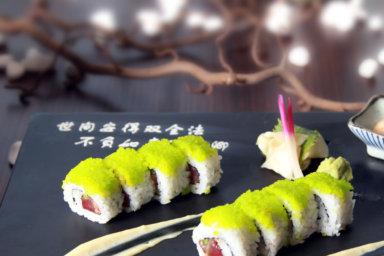 Matrimonio: l'angolo del sushi e del sashimi
