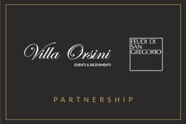 Nasce una partnership tra Villa Orsini e Feudi di San Gregorio
