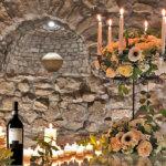La degustazione in cantina con salumi, formaggi ed il Taurasi DOCG Feudi di San Gregorio