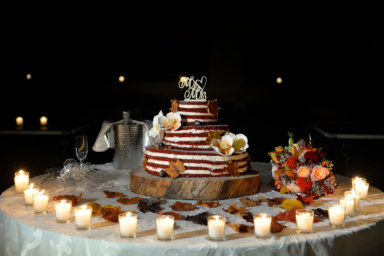 Le torte nuziali autunnali